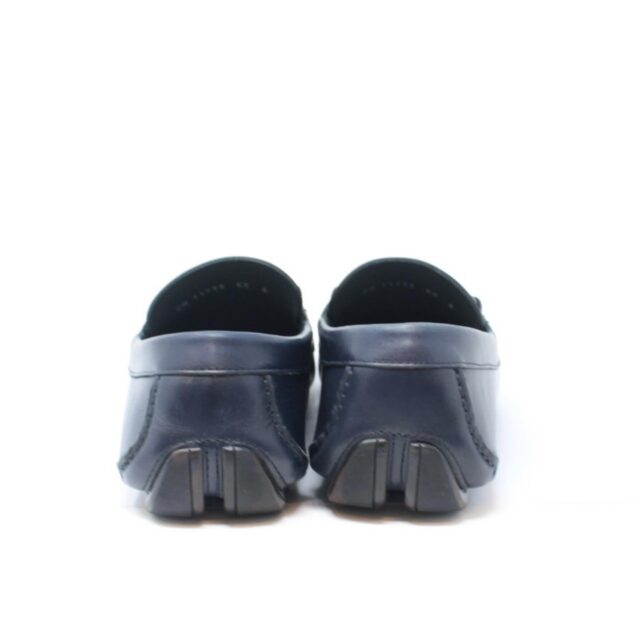 SALVATORE FERRAGAMO Navy Blue Man Loafers US 6 EU 36 18803 c