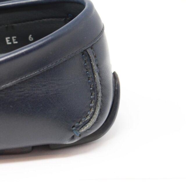 SALVATORE FERRAGAMO Navy Blue Man Loafers US 6 EU 36 18803 g