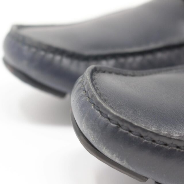 SALVATORE FERRAGAMO Navy Blue Man Loafers US 6 EU 36 18803 i