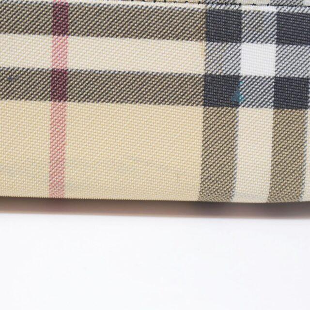BURBERRY Black Check Small Backpack 26460 e