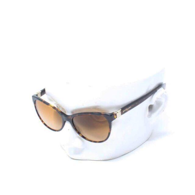 BVLGARI Brown Cat Eye Sunglasses 26439 A