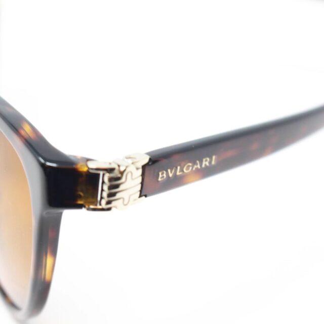 BVLGARI Brown Cat Eye Sunglasses 26439 d