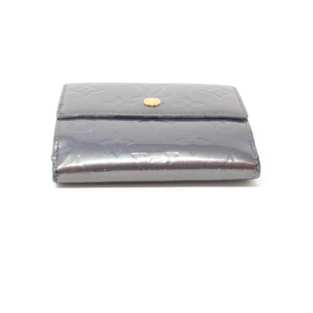 LOUIS VUITTON Gray Vernis Cartes Wallet 26377 c