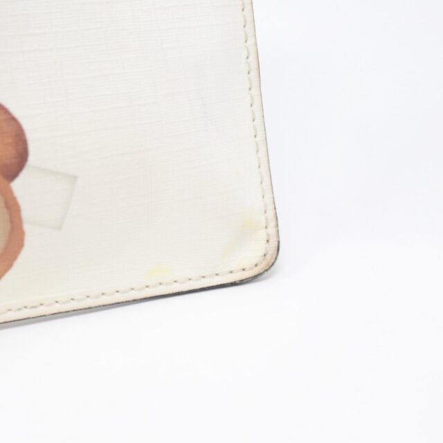 MOSCHINO White Bear Pouch 26405 f