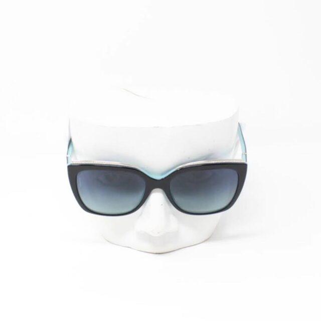 TIFFANY CO. Black Rectangular Sunglasses 26493 b