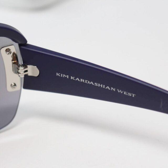 CAROLINA LEMKE by Kim Kardashian Purple Sunglasses 26773 e