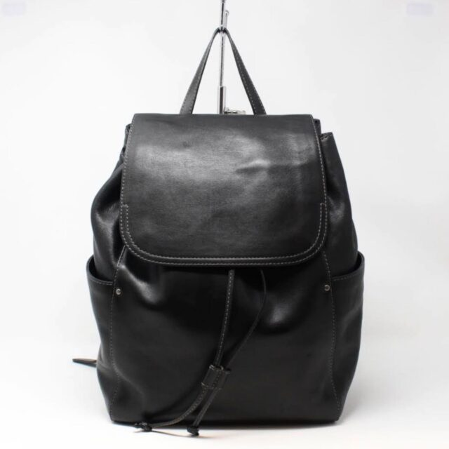 FRYE Black Leather Backpack 27210 A