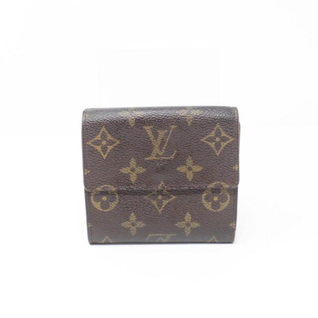LOUIS VUITTON Monogram Canvas Porte Monnaie Wallet 27027 b