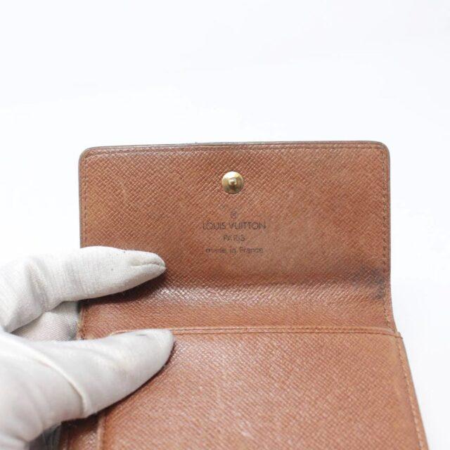 LOUIS VUITTON Monogram Canvas Porte Monnaie Wallet 27027 h