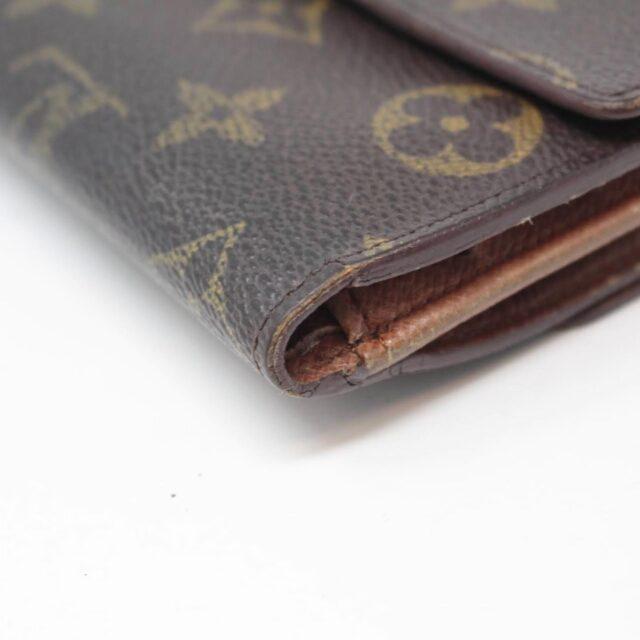 LOUIS VUITTON Monogram Canvas Porte Monnaie Wallet 27027 i