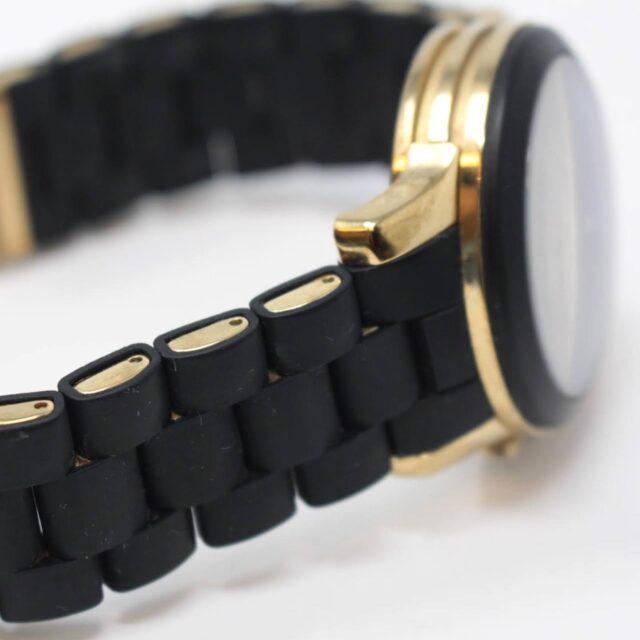 MICHAEL KORS Black Gold Watch 26517 d