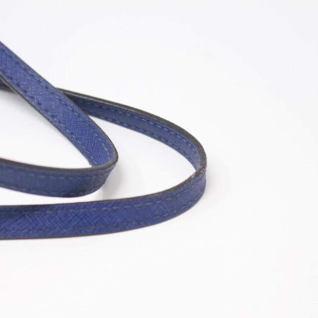 MICHAEL KORS Blue Saffiano Leather Tote 27018 d