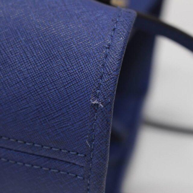MICHAEL KORS Blue Saffiano Leather Tote 27018 h