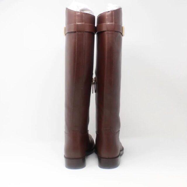 TORY BURCH Brown Almond Riding Boots US 6.5 EU 36.5 27286 c
