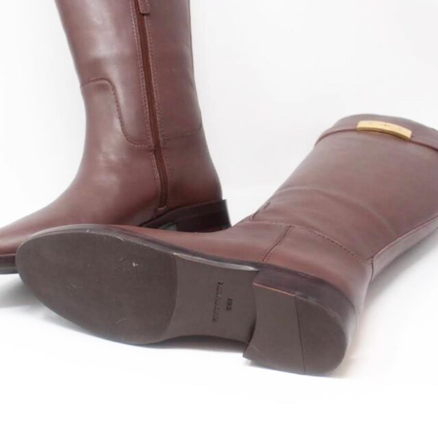 TORY BURCH Brown Almond Riding Boots US 6.5 EU 36.5 27286 d