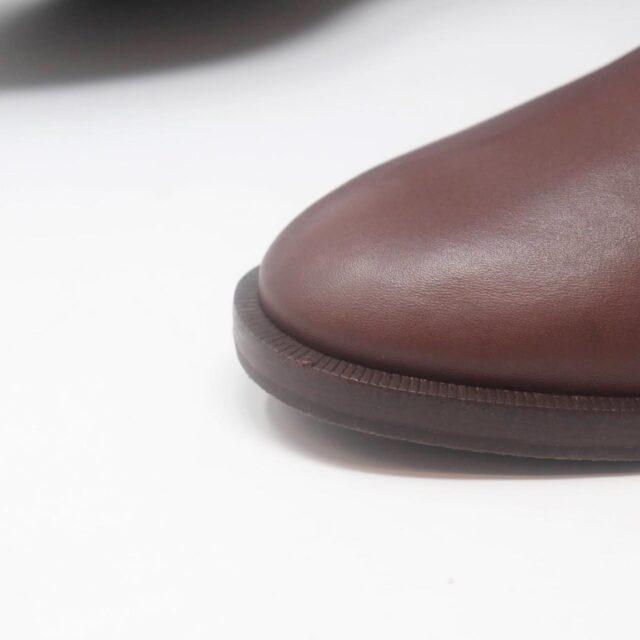 TORY BURCH Brown Almond Riding Boots US 6.5 EU 36.5 27286 e