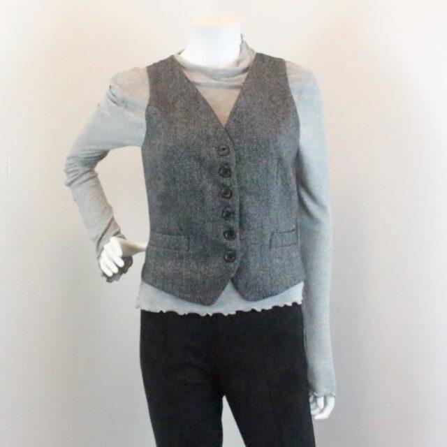 DOLCE GABBANA Grey Vest Size Small 25908 A
