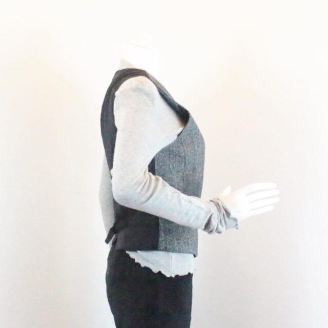 DOLCE GABBANA Grey Vest Size Small 25908 b