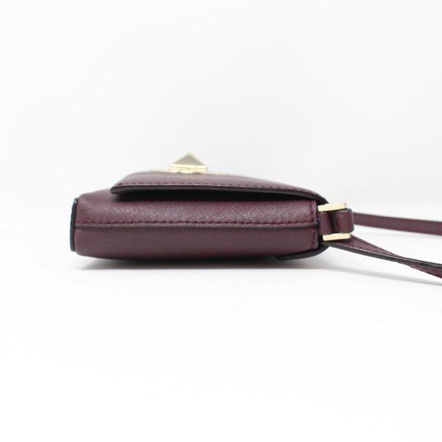 KATE SPADE Plum Leather Crossbody 27491 3