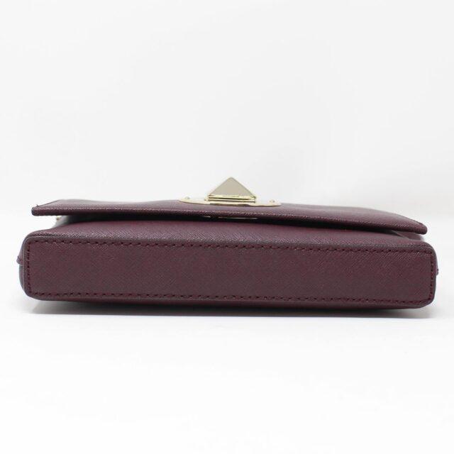 KATE SPADE Plum Leather Crossbody 27491 4