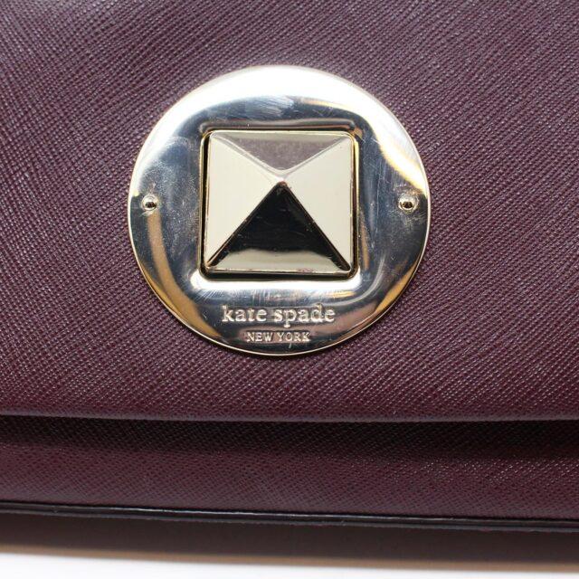KATE SPADE Plum Leather Crossbody 27491 9