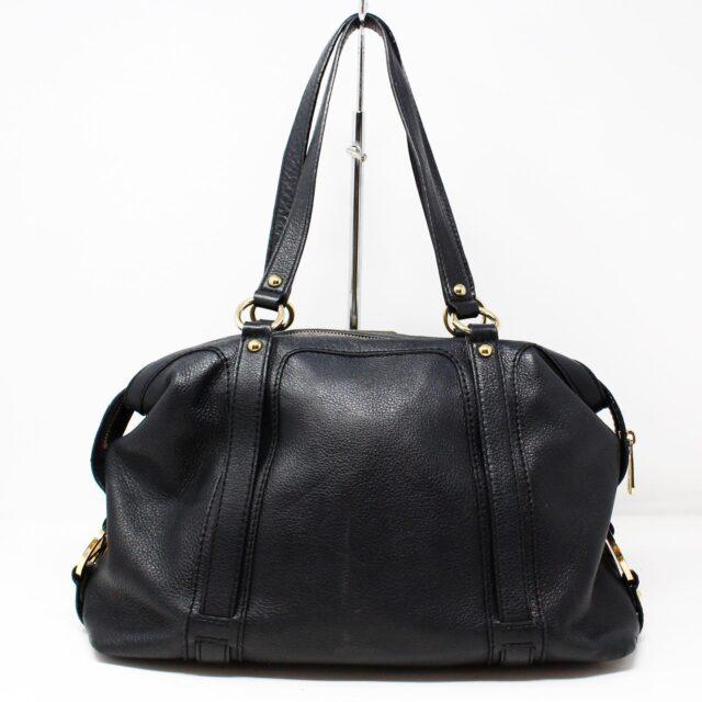 MICHAEL KORS Black Leather Handbag 27905 1
