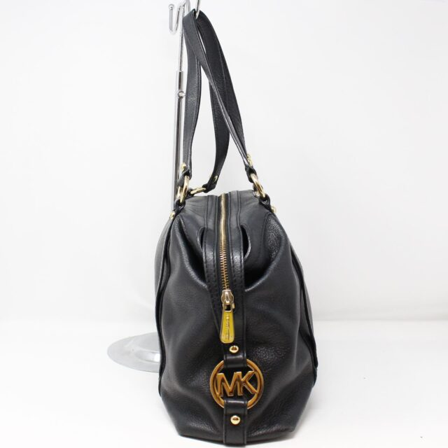 MICHAEL KORS Black Leather Handbag 27905 2