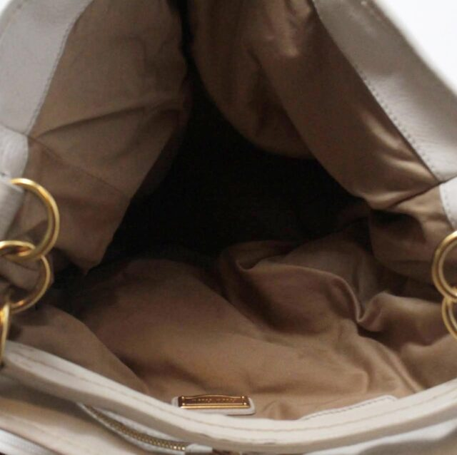 MIU MIU Beige Canapa Leather Handbag 27455 d