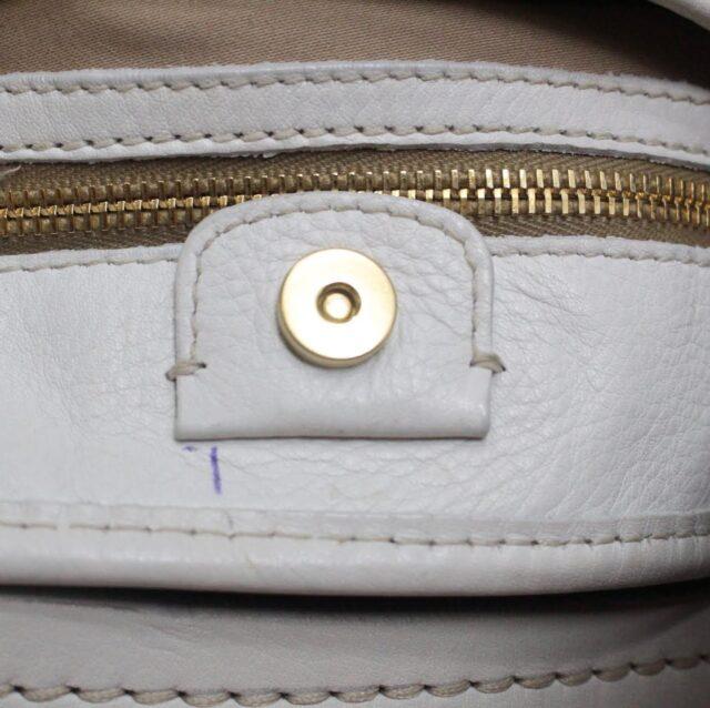 MIU MIU Beige Canapa Leather Handbag 27455 g