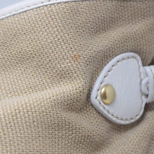 MIU MIU Beige Canapa Leather Handbag 27455 i