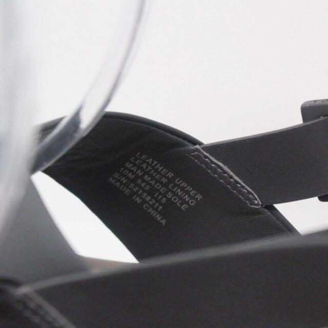 TORY BURCH Gray Leather Platform Chunky Sandals US 10 EU 40 27342 g