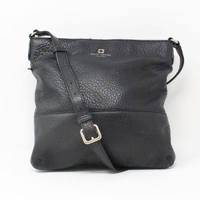 KATE SPADE Black Leather Crossbody 28026 1