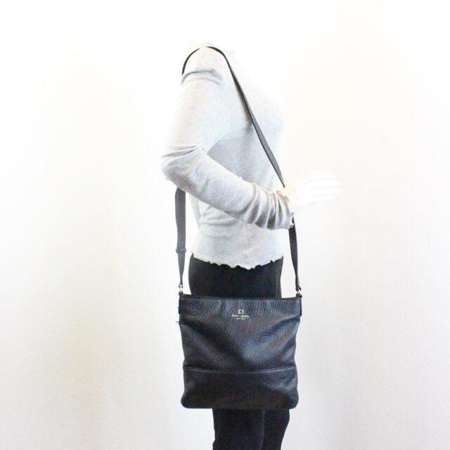 KATE SPADE Black Leather Crossbody 28026 5
