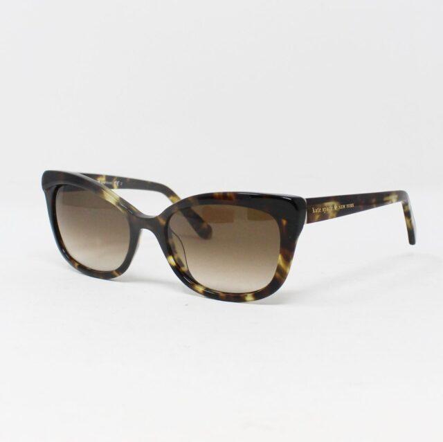 KATE SPADE Brown Tortoise Sunglasses 28115 1