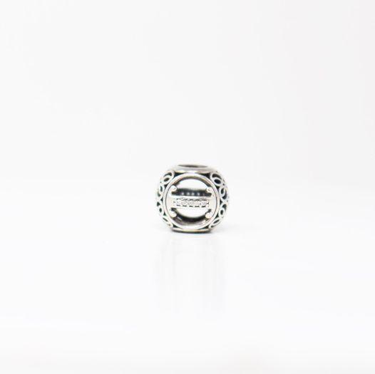 PANDORA Sterling Silver I Charm 12907 1