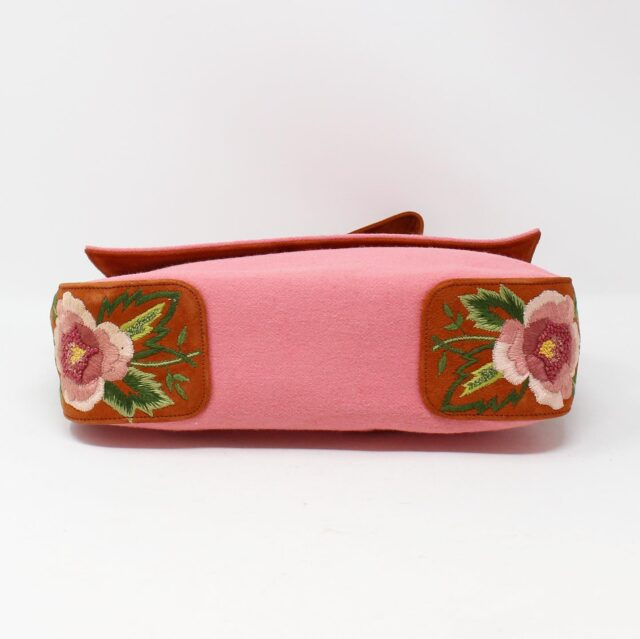 RENAUD PELLEGRINO Embroidered Floral Handbag 27546 4