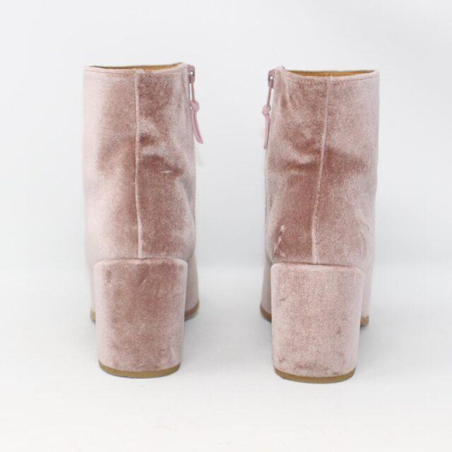 STUART WEITZMAN Pink Rose Velvet Boots US 8 EU 38 28162 2