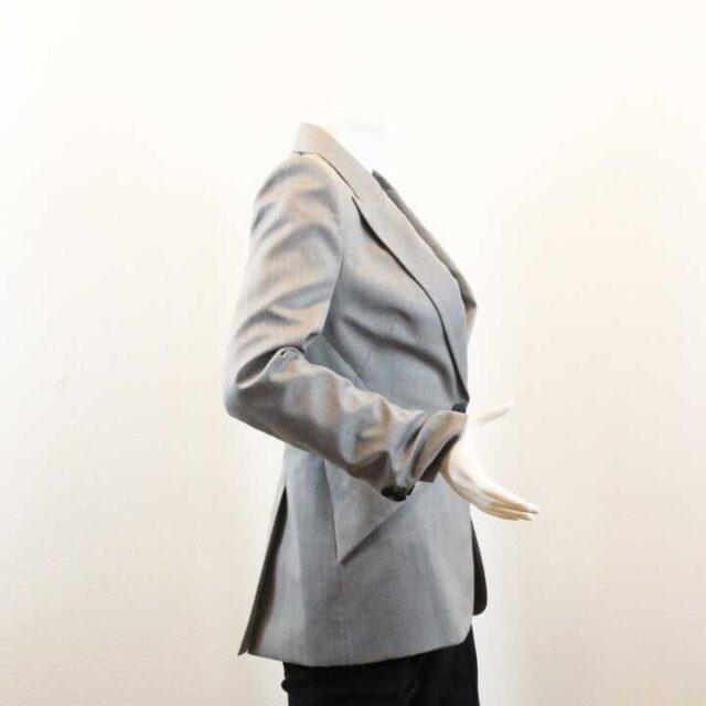 ALEXANDER MCQUEEN Gray Blazer 28170 2