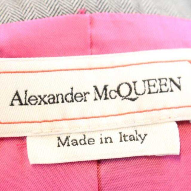 ALEXANDER MCQUEEN Gray Blazer 28170 8