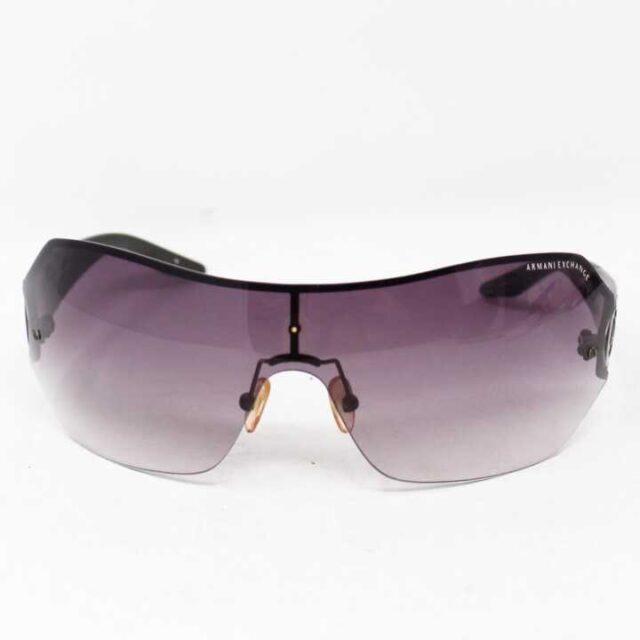 ARMANI EXCHANGE Round Purple Sunglasses 8074 7