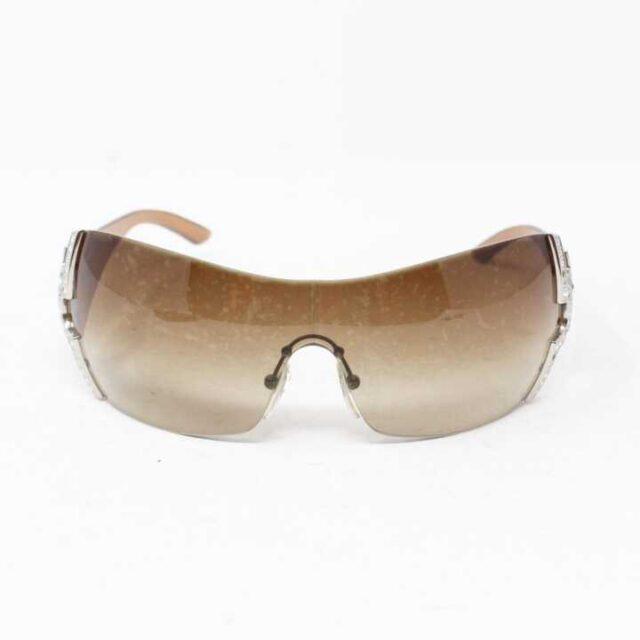 BVLGARI Brown Round Over Sized Sunglasses 28825 3