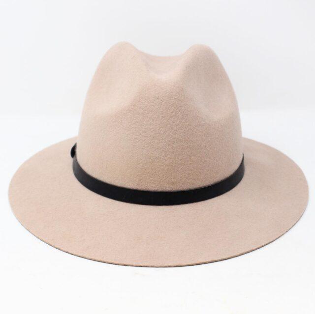 Blush Pink Felt Fashion Hat 26854 1