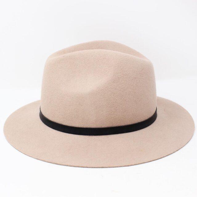 Blush Pink Felt Fashion Hat 26854 2