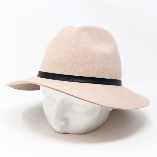 Blush Pink Felt Fashion Hat 26854 4