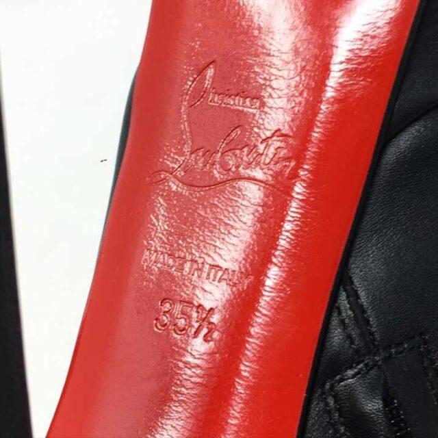 CHRISTIAN LOUBOUTIN Miss Ankle Boots Heels US 5.5 EU 35.5 29023 6