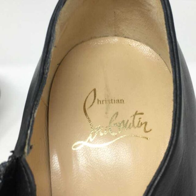 CHRISTIAN LOUBOUTIN Miss Ankle Boots Heels US 5.5 EU 35.5 29023 7