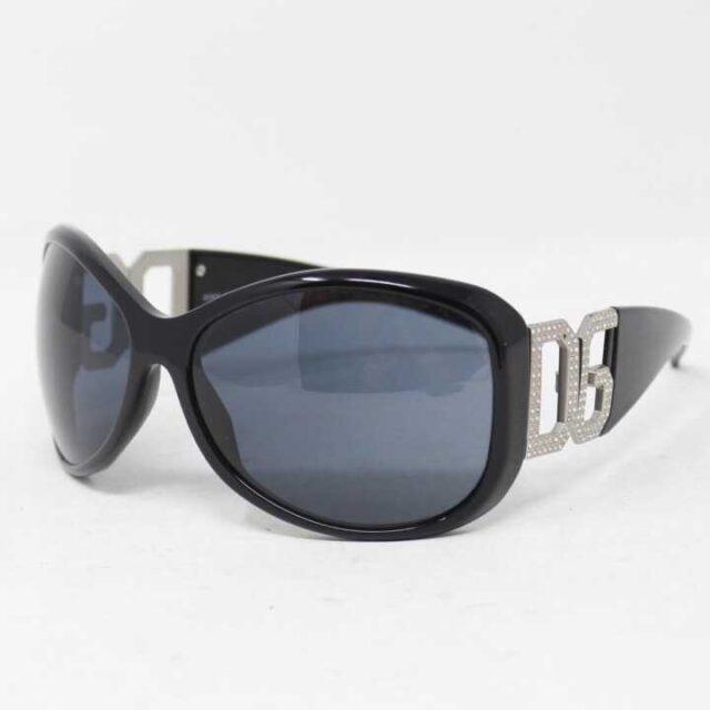 DOLCEGABBANA Black Round Sunglasses 5744 1