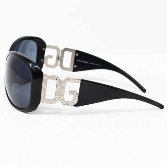 DOLCEGABBANA Black Round Sunglasses 5744 2