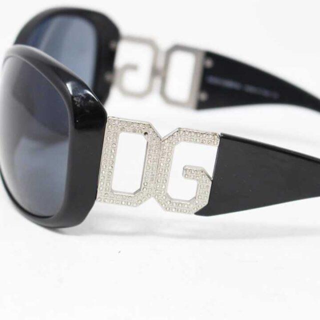 DOLCEGABBANA Black Round Sunglasses 5744 3