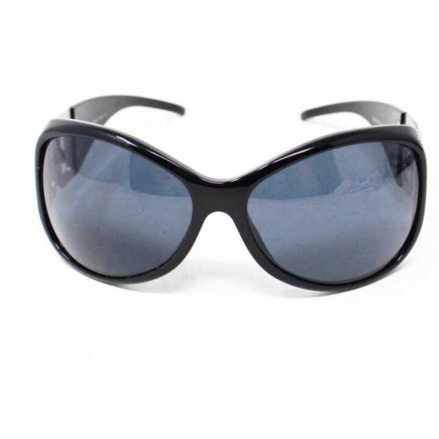 DOLCEGABBANA Black Round Sunglasses 5744 7